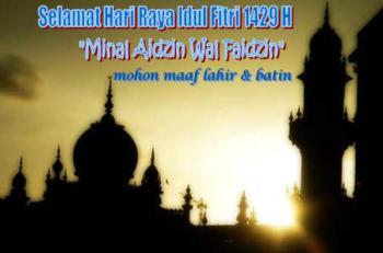 Met Idul Fitri 1429 H